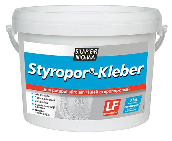 Styropor-kleber
