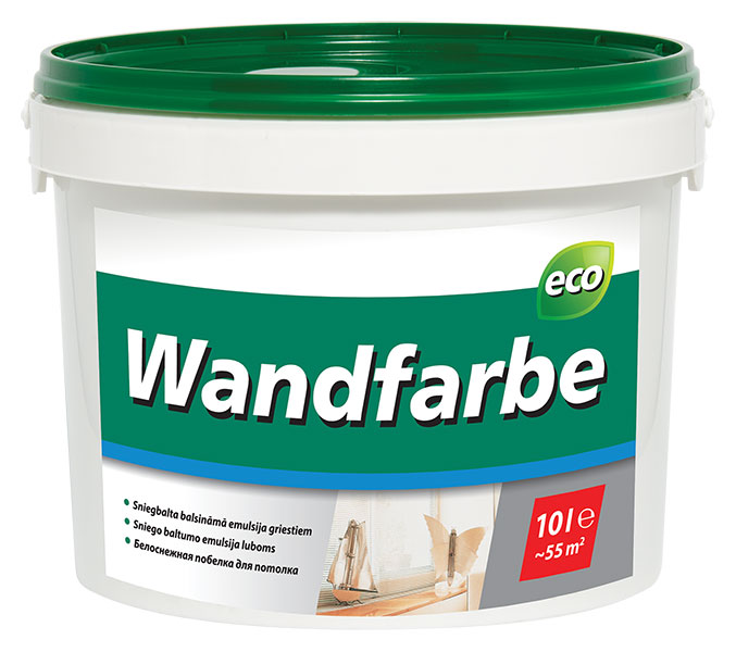Wandfarbe dispersion